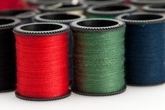 Amorçages colorés de bobine Image libre de droits