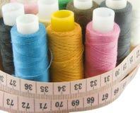 Amorçages colorés de centimètres Photographie stock libre de droits