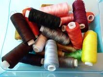 Amorçages colorés de coton Image libre de droits