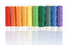 Amorçages colorés de traitements différés Photos stock