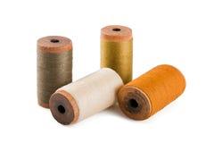 Amorçages de coton Image stock