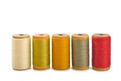 Amorçages de coton Photos libres de droits
