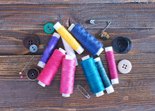 Amorçages de couleur Photographie stock