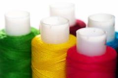 amorçages de couleur de bobines Photographie stock libre de droits