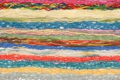 Amorçages de couleur pour le tricotage Image libre de droits