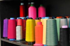 Amorçages de couture Photographie stock