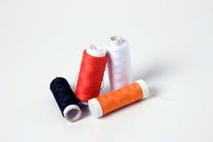 amorçages de couture colorés Image libre de droits
