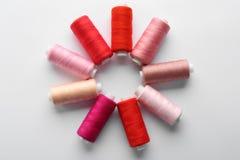 Amorçages de couture colorés Image stock