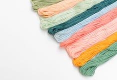 Amorçages de couture pour la broderie   Photos libres de droits