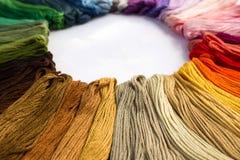 Amorçages de couture pour la broderie Photo stock