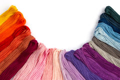Amorçages de couture pour la broderie Image stock