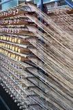 Amorçages de laines Photos libres de droits