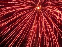 Amorçages de rouge. Image libre de droits