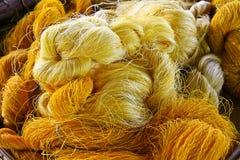 Amorçages de soie Photos libres de droits