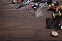 Amorçages et boutons de pointeaux Photo libre de droits