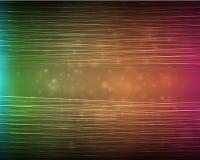 Amorçages horizontaux colorés Images stock