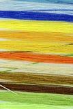 Amorçages multicolores de coton Image stock