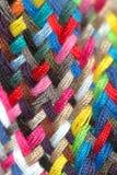 Amorçages multicolores de couture Image libre de droits