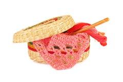 Amorçages multicolores pour la broderie Photographie stock