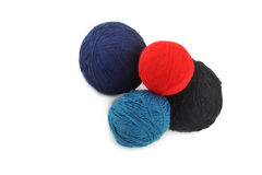 Amorçages pour le tricotage Images stock