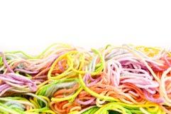 Amorçages pour le tricotage Photo libre de droits