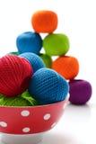Amorçages pour le tricotage Photos stock
