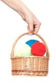 Amorçages pour le tricotage Photo stock