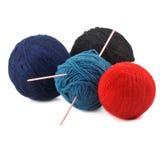 Amorçages pour le tricotage Image libre de droits