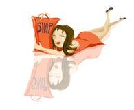 Amor à compra Ilustração do Vetor