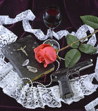 Amor à morte e morte ao amor Foto de Stock