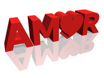 Amor Royalty Free Stock Photography
