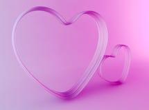 Amor 3D Imagens de Stock Royalty Free