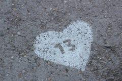 Amor 13 Imagen de archivo libre de regalías