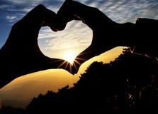 Amor Fotografia de Stock