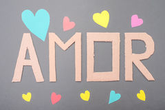 Amor Photographie stock
