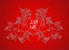 Amor ilustração stock