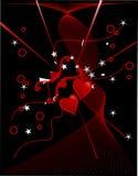 Amor abstrato Fotografia de Stock
