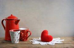 Amor abstrato do coração Fotografia de Stock Royalty Free