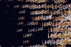 Amor abstrato para o fundo do dia de são valentim, das celebrações ou das ilustrações do aniversário Decoração, detalhes, gráfico ilustração do vetor