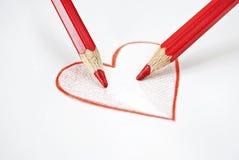 Amor adolescente Imagem de Stock