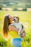 Amor al perro Fotos de archivo