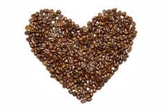 Amor ao café Imagens de Stock