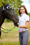 Amor aos cavalos Imagens de Stock Royalty Free