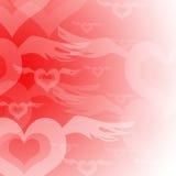 Amor apaixonado Fotografia de Stock