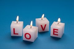 Amor ardente Imagens de Stock Royalty Free