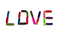 Amor beads_2 Foto de Stock