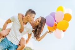 Amor brilhante Imagens de Stock