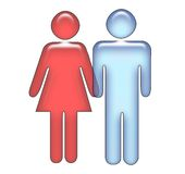Amor/casal Imagem de Stock Royalty Free