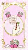 Amor cor-de-rosa Fotos de Stock Royalty Free