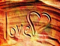 Amor, coração Imagens de Stock